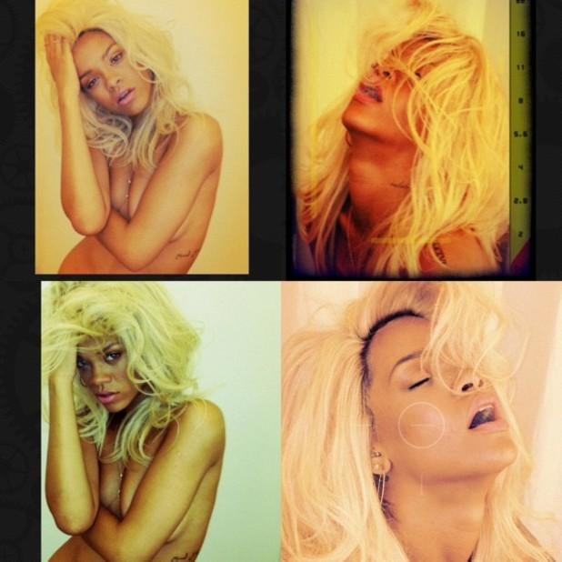 Rihanna, perfume shoot (photographed by Melissa Forde)