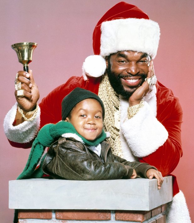 Mr T as Santa