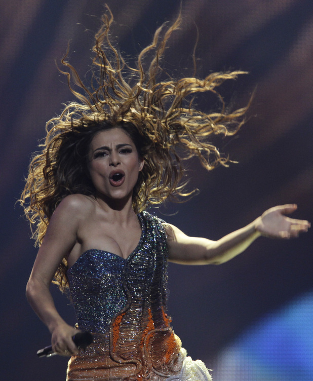 Eurovision Song Contest 2012: Greece's Eleftheria Eleftheriou.