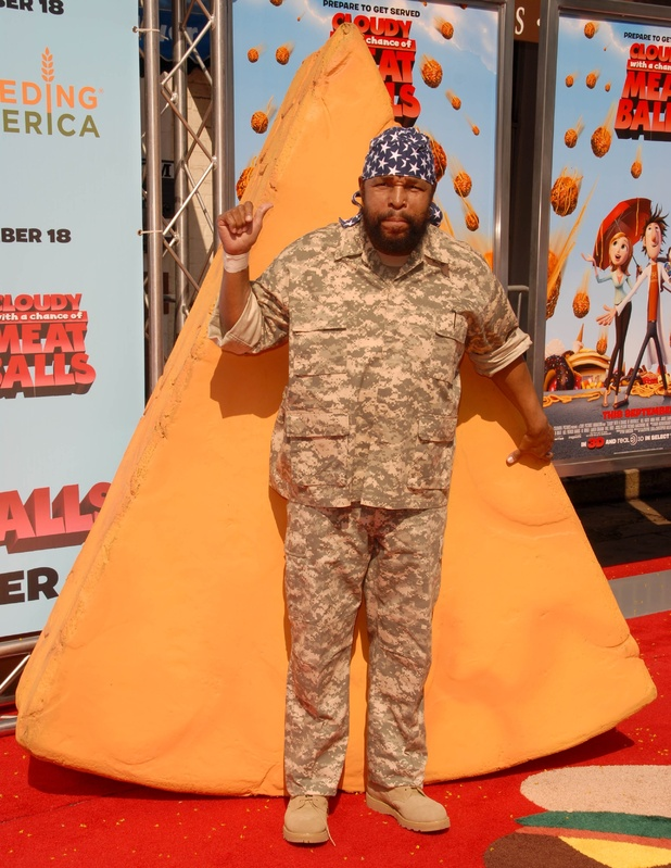 Mr T at the premiere of 'Cloudy With A Chance of Meatballs'