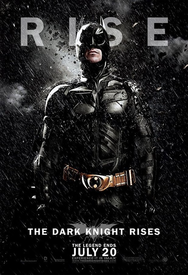 The Dark Knight Rises New Posters