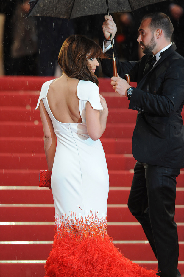 Cheryl Cole from behind