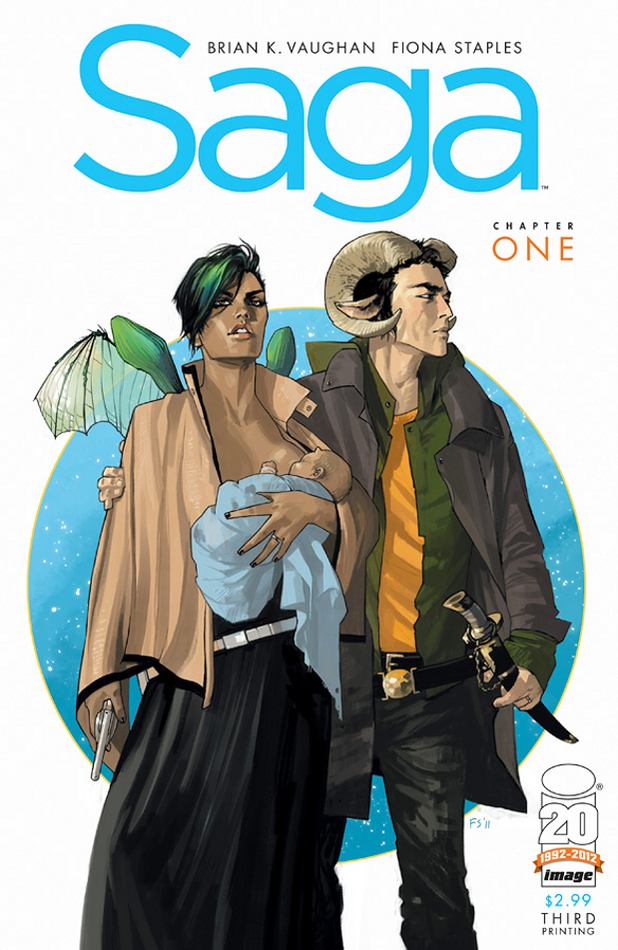 Saga: Chapter One (Brian K Vaughan)