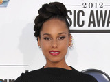 Alicia Keys arriving at the 2012 Billboard Awards at the MGM Grand, Las Vegas