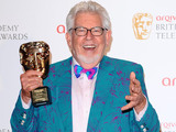 Rolf Harris with the Bafta Fellowship Award at the Arqiva British Academy Television Awards 2012 at the Royal Festival Hall, London.