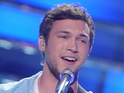 The American Idol finalist says he managed to enjoy the finale after a while.