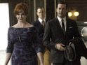 "Christina Hendricks thinks the characters are ""too similar"" to begin a relationship."