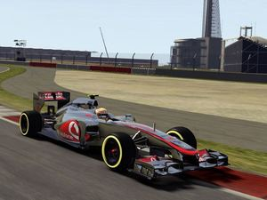 The first screenshots of F1 2012
