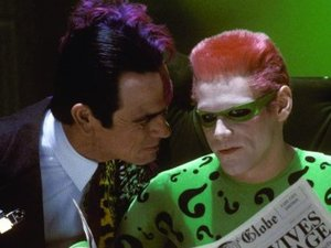 Jim Carrey as The Riddler in 'Batman Forever'