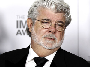 George Lucas at the NAACP Image Awards 2012