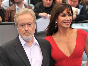 Director Sir Ridley Scott arriving at the 'Prometheus' world premiere, held at the Empire, Leicester Square