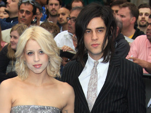Peaches Geldof and Thomas Cohen arriving at the 'Prometheus' world premiere, held at the Empire, Leicester Square