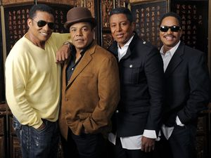 Jackie Jackson, Tito Jackson, Jermaine Jackson and Marlon Jackson.