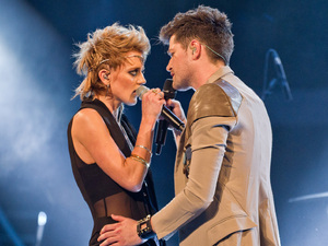 The Voice UK Live Final: Bo and Danny.