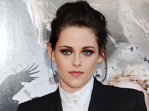 Lead actress Kristen Stewart on the red carpet at the Los Angeles premiere of 'Snow White and The Hunstman'