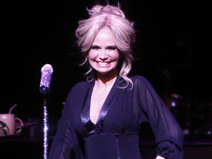Kristin Chenoweth performs live at the New York City Center as part of her &#39;Kristin Chenoweth World Tour&#39;