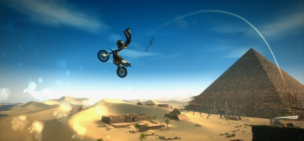 'Avatar Motocross Madness' screenshot