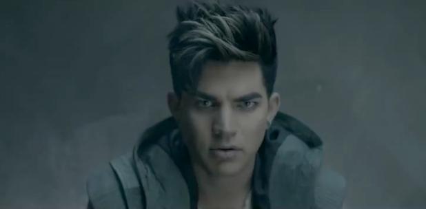 Adam Lambert 'Never Close Our Eyes' video still