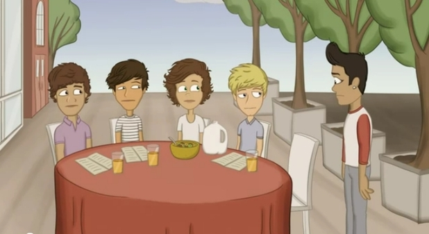 'The Adventurous Adventures of One Direction' screencap