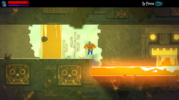 Guacamelee! screenshot (Drinkbox Studios)