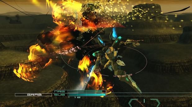 'Zone Of The Enders HD' screenshot