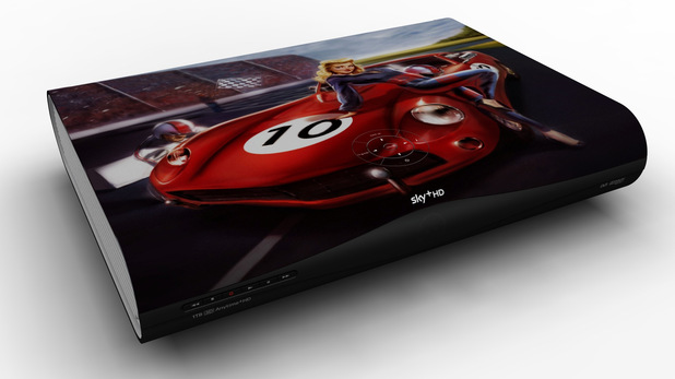 Sky+ HD F1 Celebrity Designer Boxes
