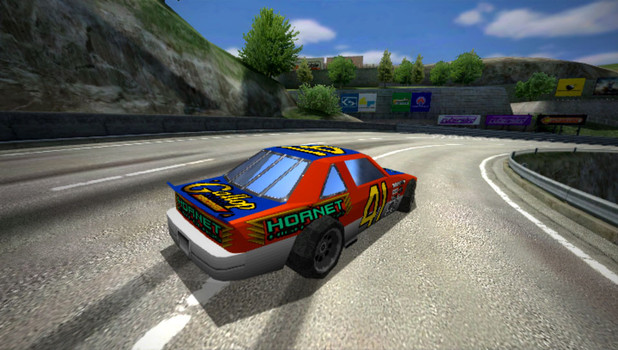 Ridge Racer: 'Daytona USA' DLC screenshots