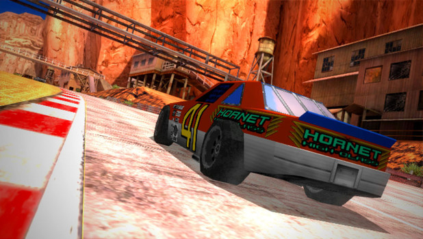 Ridge Racer: 'Daytona USA' DLC screenshot