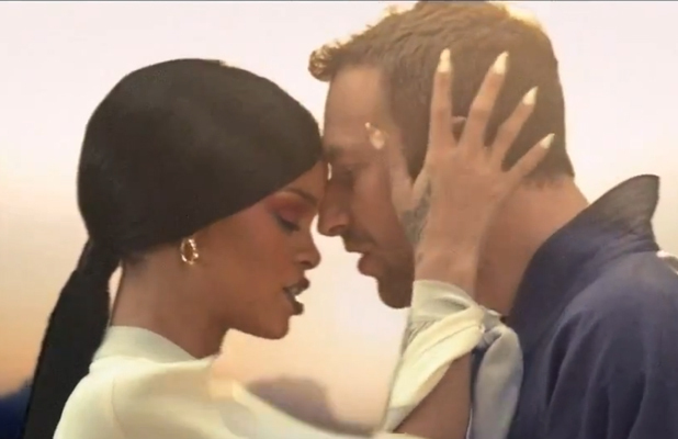Coldplay Rihanna 'Princess Of China' video.