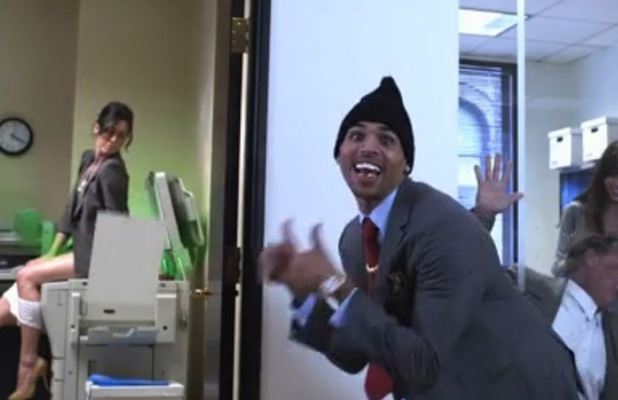 Chris Brown 'Till I Die' music video.
