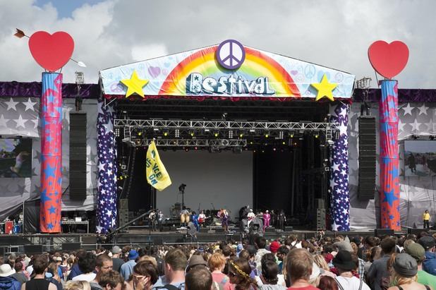 Bestival Music Festival held at Robin Hill Adventure Park, Isle of Wight, 2011