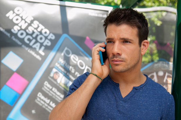 Danny Mac as Dodger Savage - Nokia product placement