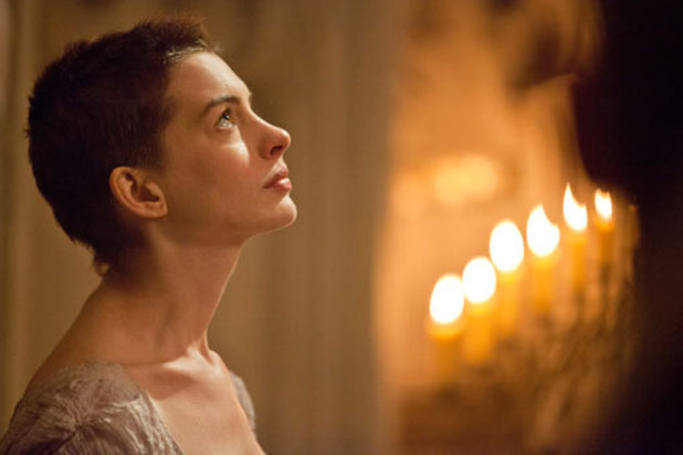 Anne Hathaway, Les Miserables still