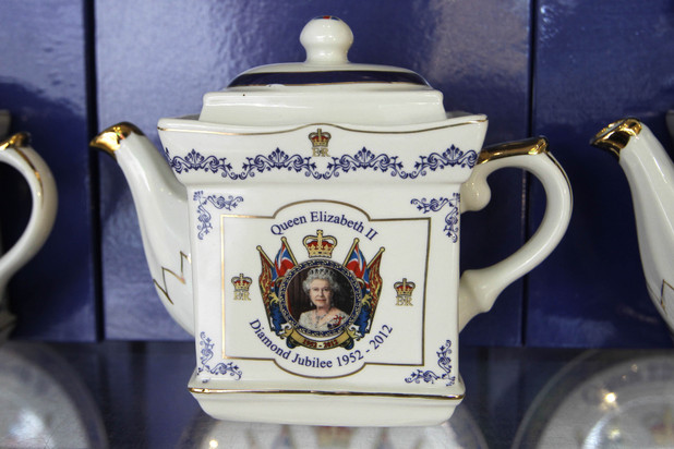 Queen Elizabeth Tea Pot
