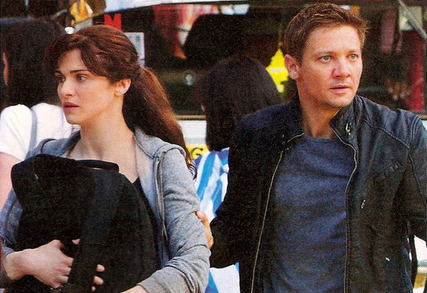 Rachel Weisz Alongside Jeremy Renner In 'The Bourne Legacy'