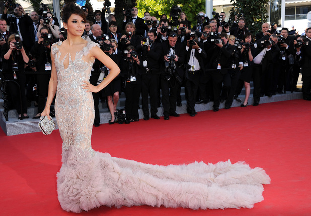 Eva Longoria, Cannes Film Festival, Marchesa, Moonrise Kingdom premiere 