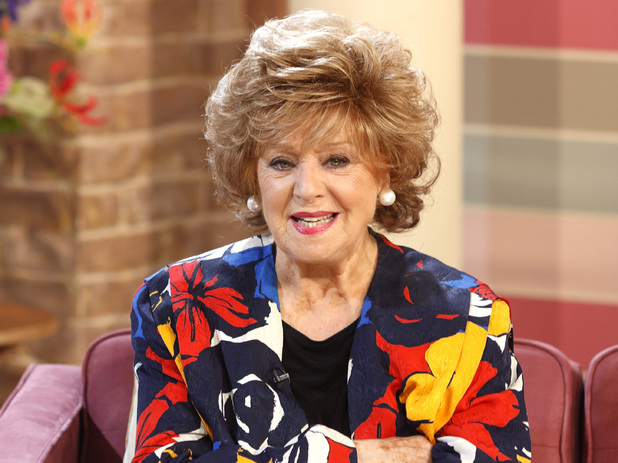 Barbara Knox appears on 'This Morning'