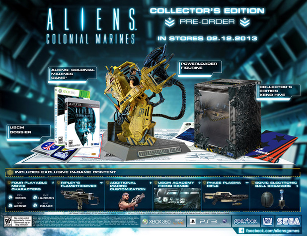 [ACTU] Aliens Colonial Marines Collector's Edition