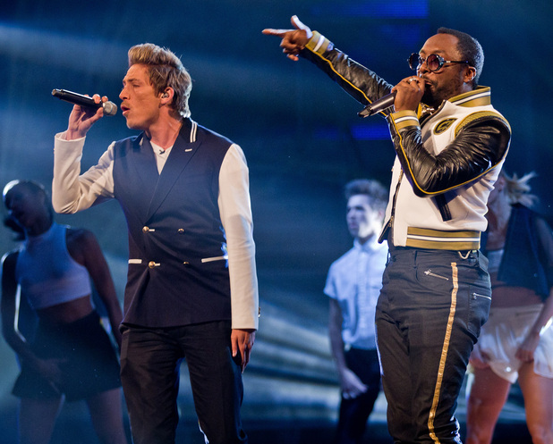 The Voice UK Live Final: Tyler and will.i.am