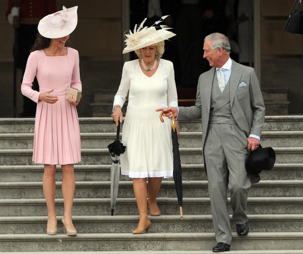 Duchess of Cambridge, Duchess of Cornwall, Prince Charles