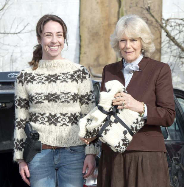Sofie Gråbøl and the Duchess of Cornwall
