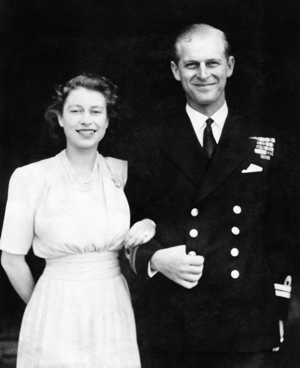 Princess Elizabeth and Lieut. Philip Mountbatten