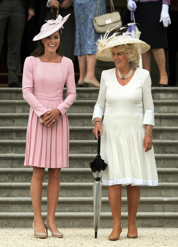 Duchess of Cambridge and the Duchess of Cornwall