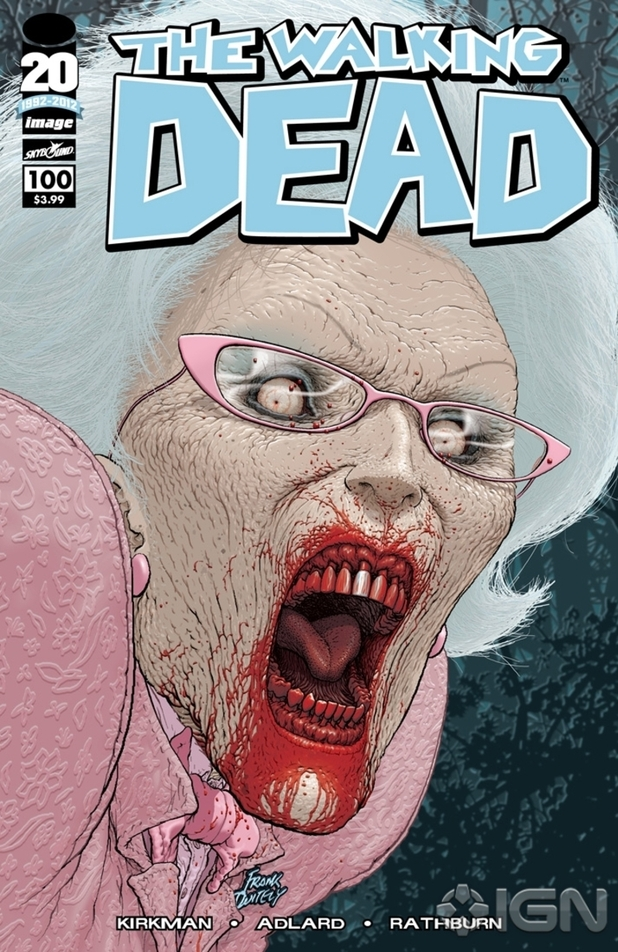 The Walking Dead #100 Frank Quitely