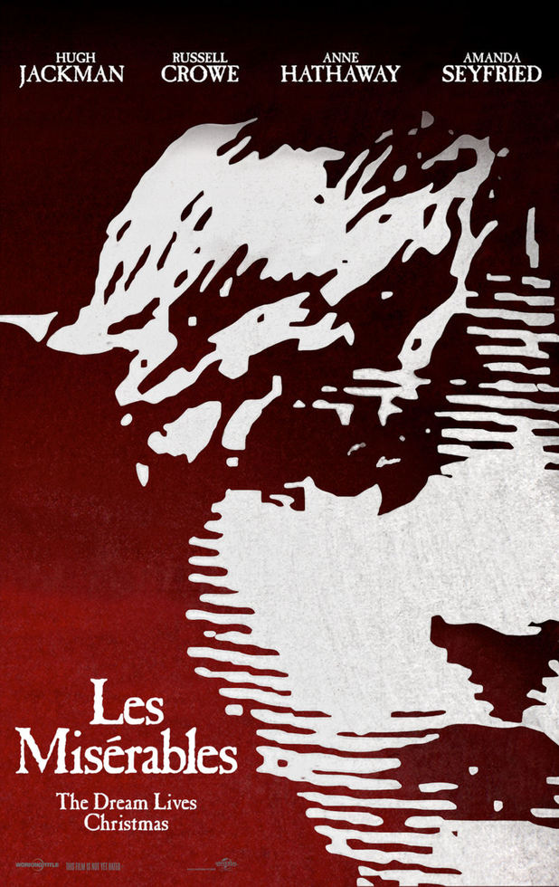 Les Mis Movie poster