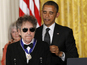 Obama honours Bob Dylan with medal