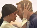 Chris Martin and Rihanna duel with swords in the Crouching Tiger-inspired clip.