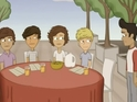 New clip from Archer's Mark Parsons stars animated version of British boyband.