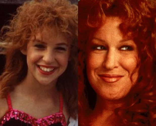 Mayim Bialik and Bette Midler