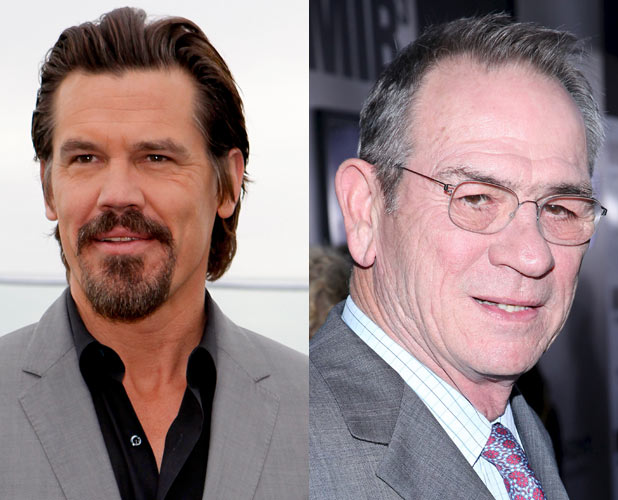 Josh Brolin and Tommy Lee Jones